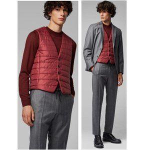 NWOT - Hugo Boss Hiwan Slim-fit Bodywarmer Vest
